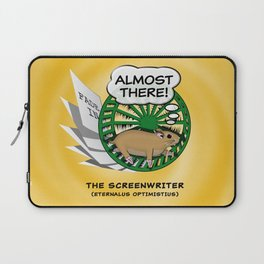 """""""Almost There"""" for Screenwriters Laptop Sleeve"""