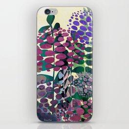 Purple Aliums iPhone Skin