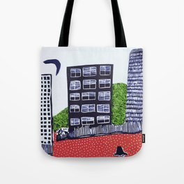 Town by night Tote Bag