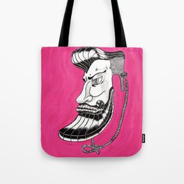 Hipster Mask Tote Bag