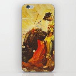 Vintage Mexico Bullfighting Travel iPhone Skin