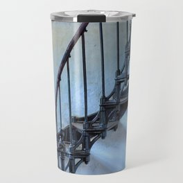Admiralty Head Lighthouse Stairs Travel Mug