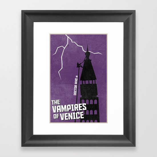 The Vampires of Venice (6 in a series of 13) Framed Art Print