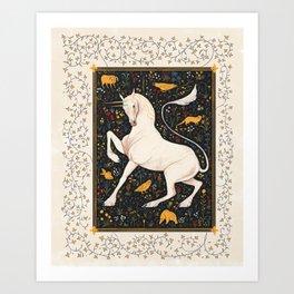The Steed Art Print