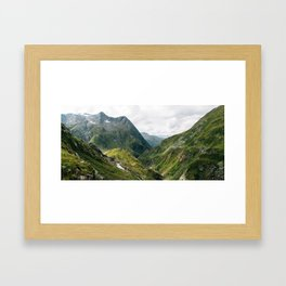 Alps of Switzerland Framed Art Print