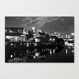 Philadelphia by Night Canvas Print