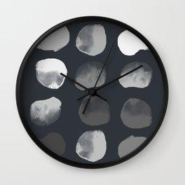 Slate Dots Wall Clock