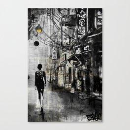 down CHINATOWN Canvas Print