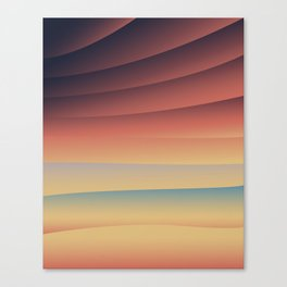 Sunset Thrills Canvas Print