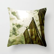 Feed me Clouds 2 Throw Pillow