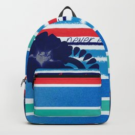 Never ever grow up Backpack