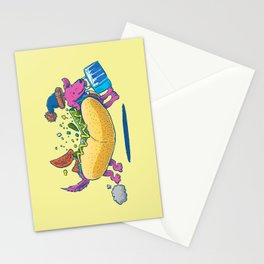 Chicago Dog: Lunch Pail Stationery Cards