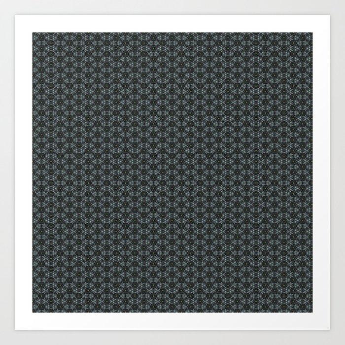 Geometric Abstract Pattern 1 Art Print