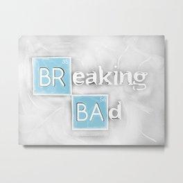 Breaking Bad Metal Print