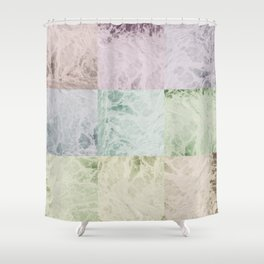 Water Current Shower Curtain