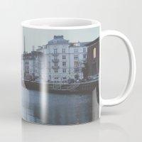 copenhagen Mugs featuring Copenhagen by Gabriri