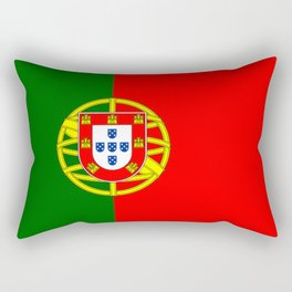 flag of portugal -Portuguese,mirandese,Portugués,lisbon,porto. Rectangular Pillow