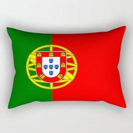 flag of portugal -Portuguese,mirandese,Portugués,lisbon,porto. Rectangular Pillow
