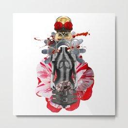 Open Your Heart by Lenka Laskoradova Metal Print