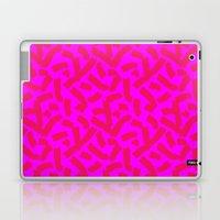Hot Pink Cheese Doodles /// www.pencilmeinstationery.com Laptop & iPad Skin