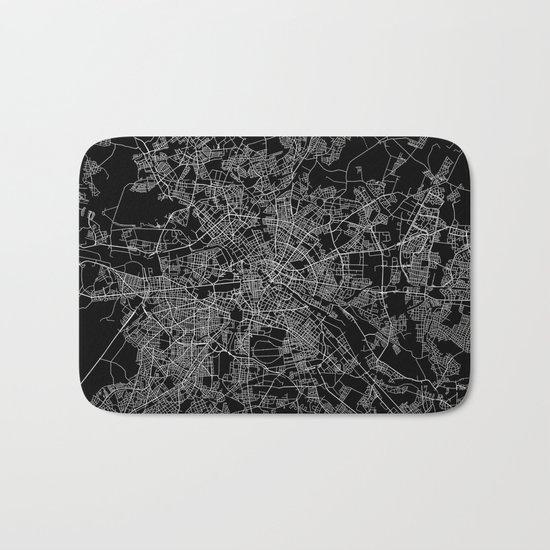Berlin map Bath Mat