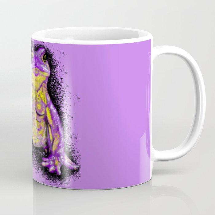 Tough Toad - Purple Coffee Mug