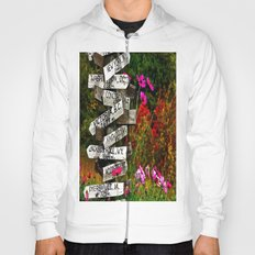 Signpost in the Fall Hoody