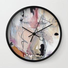 Leaving Damson Wall Clock