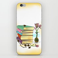 books iPhone & iPod Skins featuring Books by famenxt
