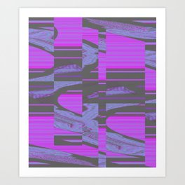 Virus 1.A Art Print