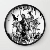 brain Wall Clocks featuring Brain by Christian G. Marra