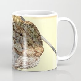 Chameleon Hanging On A Wire Fence Coffee Mug