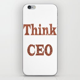ThinkCEO iPhone Skin