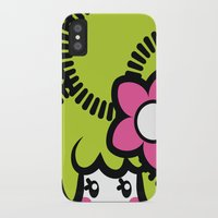 pagan iPhone & iPod Cases featuring Pagan Lime by Pagan Holladay