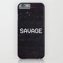 SAVAGE iPhone Case