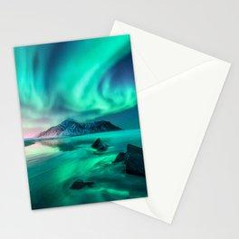 Aurora Borealis 5 Stationery Cards