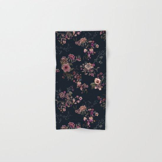Japanese Boho Floral Hand & Bath Towel
