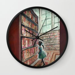 Exploring the Library Wall Clock