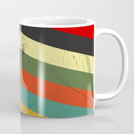 Grunge chevron Coffee Mug