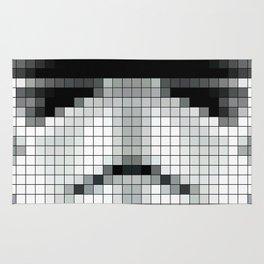 Stormtrooper : 8 Bit Pixel Rug