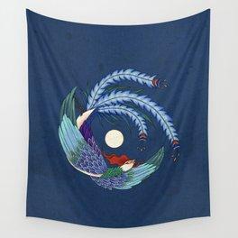 Minhwa: Asian Phoenix H Type Wall Tapestry