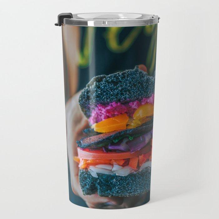 Black LT Sandwich Travel Mug
