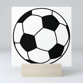 soccer-ball Mini Art Print
