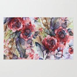 Bloodflowers Rug