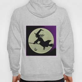 Witch and the Moon Hoody