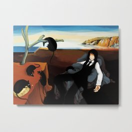 The Persistence of Gwady Metal Print