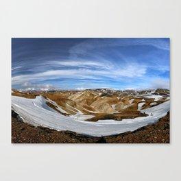 Landmannalaugar, Iceland Canvas Print