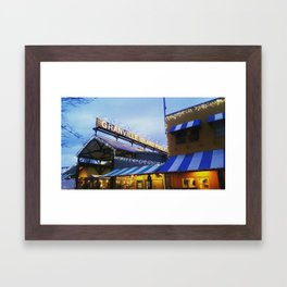 Granville Island Framed Art Print