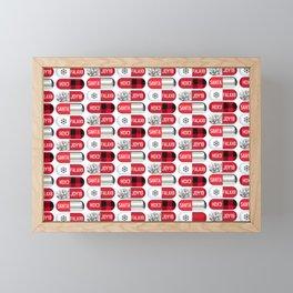 Christmas Pills Framed Mini Art Print