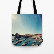 Old Town Harbor - Dubrovnik, Croatia Tote Bag